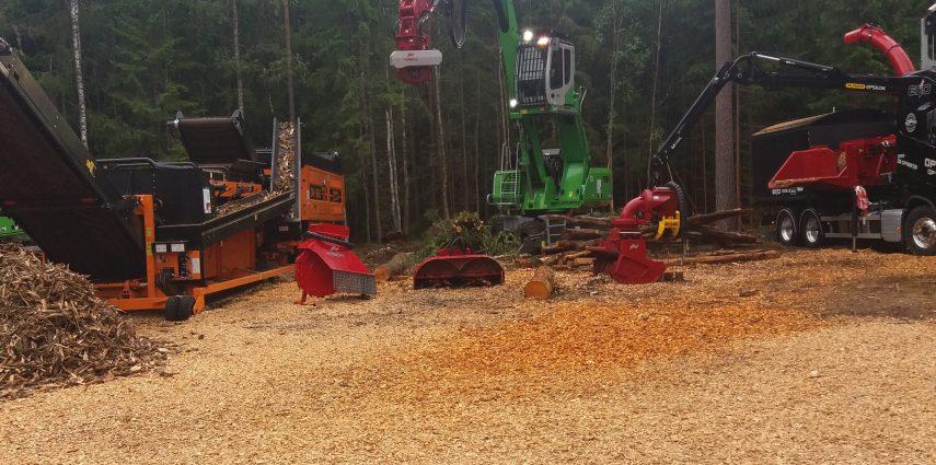 Visita a Elmia Wood 2017
